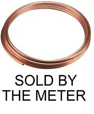 New Copper plumbing heating microbore pipe, sold by the meter. 4mm O/D. UK