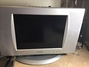 """TV Sharp Liquid Crystal! Great Condtion Tested 10"""" Screen"""