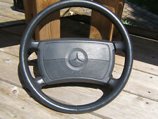 89/93 MERCEDES R129 W140 500SL 300SL GRAY LEATHER STEERING WHEEL WITH AIR BAG