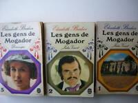 3 FRENCH BOOKS ELISABETH BARBIER LES GENTS DE MOGADOR JULIA VERNET DOMINIQUE