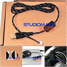 Laptop Design 1.1m Mice Mouse USB Cable Line For Logitech G500 G500s Feet Skate