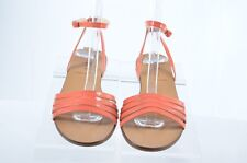 J Crew Womens 6.5 M  Strappy Sandals Ankle Strap Flat (D)