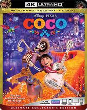 COCO (Disney Pixar)  (4K ULTRA HD) - Blu Ray -Region free