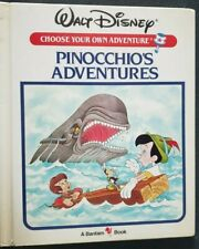 Walt Disney Pinocchio's Adventures Choose Your Own Adventure Bantam Book 1985