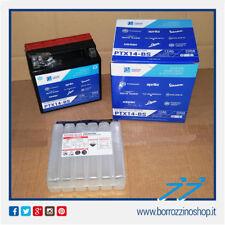 BATTERIA SCHERMATA  PIAGGIO PTX14-BS=YTX14-BS SUZUKI GSX 1400 2002/2006