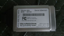 Vintage MicroSolutions BackPack Pc Card 836 Used Unetsted