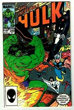 INCREDIBLE HULK #300 SPIDER-MAN! AVENGERS! Double-Sized Issue! 1984 Marvel VF/NM