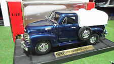 CHEVROLET Pick Up citerne Tanker 1953 1/18 MIRA 6270 voiture miniature collectio