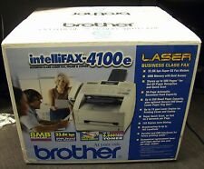 NEW Brother IntelliFax-4100e High Speed Business-Class Laser Fax Machine