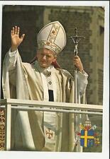 CARTOLINA PAPA GIOVANNI PAOLO II ANNO 1982