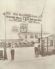 "SEAL BEACH Joy Zone CAR PARKING STATION Photo Print 883 11"" x 14"""