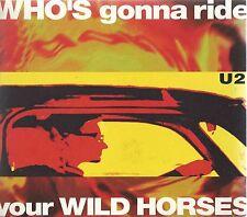 U2 - WHO'S GONNA RIDE YOUR WILD HORSES 1992 UK CD SINGLE DIGIPAK ISLAND CIDX 550