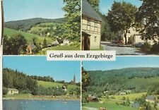 AK Grüße aus dem Erzgebirge - verschiedene Ansichten