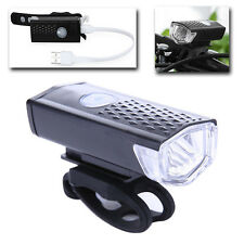 600LM Cycling Bicycle LED Lamp USB Rechargeable Bike Head Front Light Torch NEW