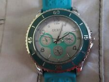 Guess watch Ladies Teal aqua watch. Ex. cond REDUCED ITEM