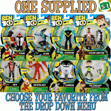 1x Ben 10 Action Figure with themed accessory - ONE SUPPLIED you choose
