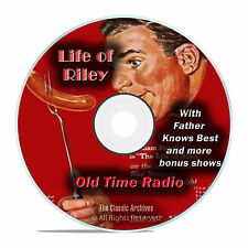 The Life of Riley, 607 CLASSIC EPISODES, Comedy Old Time Radio, OTR, DVD CD G01