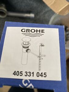 Grohe 405331045  Sink Waste Drain Assembly  Polished Chrome