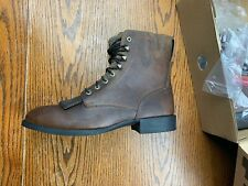 NEW Ariat Heritage Lacer II Roper Cowboy Western Boot 11 Brown 10002147 33505