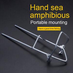 Fishing Rod Stand Support Bracket Rest Ground Holder Adjustable Pole