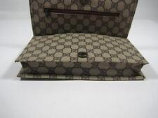 Vintage Gucci GG  Organizer Portfolio Bag Purse Handbag Clutch
