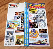 Old Sticker Set Diablo II Final Fantasy VIII Tomb Raider IV Sonic Adventures etc