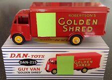 DINKY/Dan Toys 215 Guy Van Golden Shred camion, Superbe Qualité! Quelques Derniers!!!