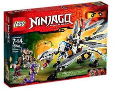 Lego Ninjago Titanium Dragon 70748 Age 7 - 14