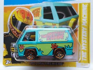 Hot Wheels 2012 HW Premiere Scooby-Doo THE MYSTERY MACHINE Wrong Way Error