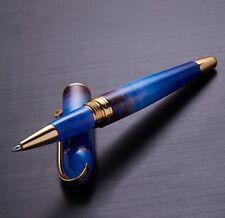 Xezo O Sole Mio 18K gold Pl. Roller Pen. Screw-on Cap. LE OF 200. 0851275007337