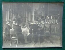 Antique Albumen Photo King George V Queen Mary Queen Alexandra Dighton Probyn