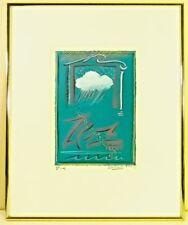 "DONNA IONA DROZDA ORIGINAL VINTAGE WATERCOLOR 1982-""D4"""