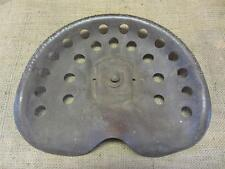 RARE Vintage Metal Parlin & Orendorff Tractor Seat > Old Antique Iron Farm 8759