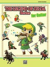 The Legend of Zelda Series for Guitar Songs Tunes Learn Play Guitar MUSIC BOOK