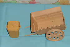 vintage Indiana Jones ROTLA STREETS OF CAIRO WAGON & BASKET WITH LID parts lot