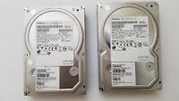 "Lot of 2 - 2TB 7200RPM Hitachi Desktop SATA 3.5"" Hard Drives"