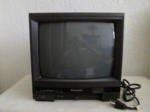 Vintage Panasonic CT-1384Y Color Video Monitor - working well