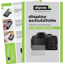 6x dipos Nikon Coolpix P520 Film de protection d'écran protecteur antireflet