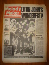 MELODY MAKER 1975 APR 5 10CC ELTON JOHN MOTT THE HOOPLE