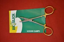 "Dr. Slick Scissor Clamps SNH55G - 5 1/2"" Straight - L L Bean - NEW  (DS-2)"