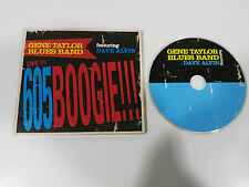 GENE TAYLOR BLUES BAND FEAT DAVE ALVIN LIVE 605 BOOGIE CD 2008