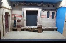 Star Wars Mandalorian Inspired Mos Pelgo Tatooine Display Case Diorama, 1:12