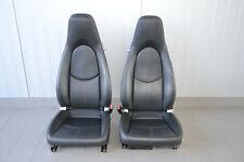 Porsche 911 997 Sitze Innenausstattung Lederausstattung schwarz Seats Seat black