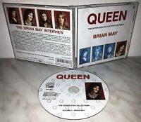 CD QUEEN - THE INTERVIEW COLLECTION - BRIAN MAY - CBAK 4058 - EX+