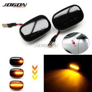 Dynamic Side Marker Light Lamp For Toyota Corolla Celica T20 Camry Supra Mk4 MR2