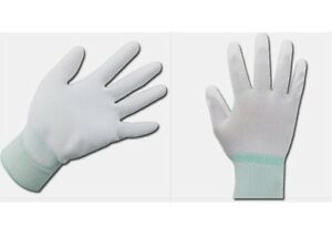 3M PU Palm Gloves 10 Pairs For General Works Precision Works PU Coating Safety