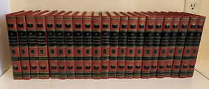 Vintage 1957 Illustrated Home Library Encyclopedia
