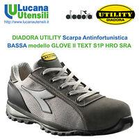 DIADORA SCARPA ANTINFORTUNISTICA GLOVE II TEXT S1P HRO RSA Unisex Lavoro Scarpe