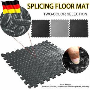 60 x 60cm Bodenmatte Puzzlematte EVA Unterlegmatte Bodenschutzmatte 8/12/24stk