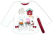 Camisetas y tops de niña de 2 a 16 años de manga larga multicolor